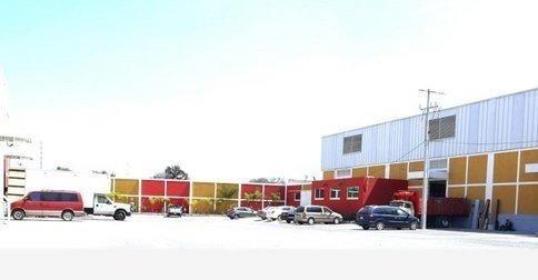 excelente bodega industrial de 750m2 en renta en micro parque industrial.
