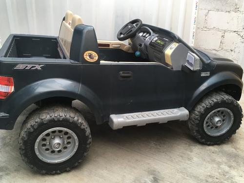 excelente camioneta ford lobo power wheels