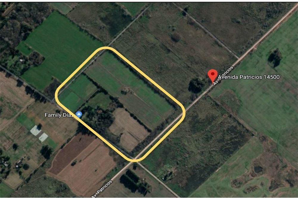 excelente campo en zona rural merlo - 11 hectáreas