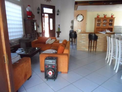 excelente casa 3 suíte - praia do tombo - guarujá - ca0067