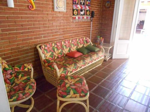excelente casa 4 dormitórios com piscina - praia do guaiuba - guarujá - ca0062