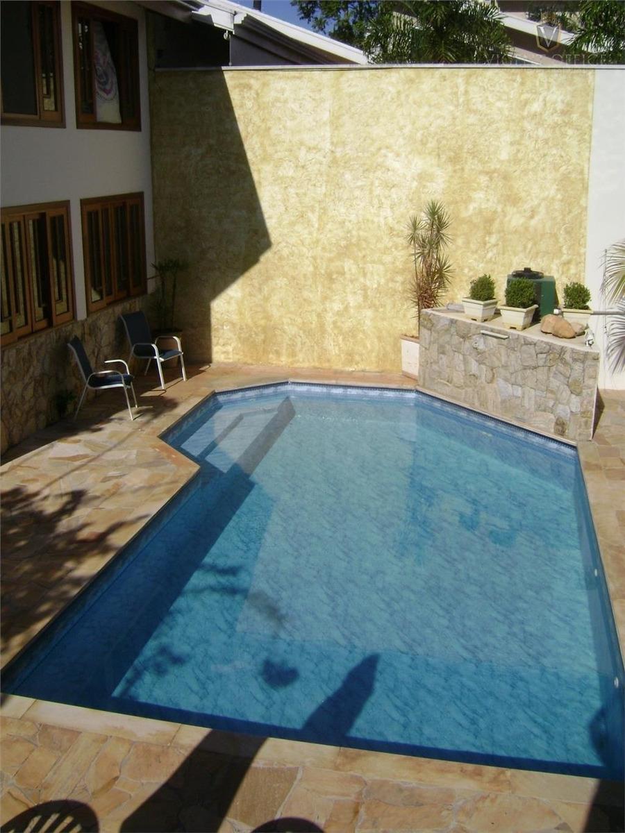 excelente casa 4 dormitórios à venda, 386 m² por r$ 2.300.000 - chácara malota - jundiaí/sp - ca0042