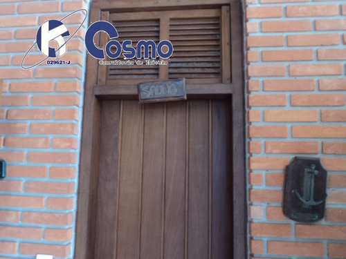 excelente casa  a venda, alto padrão, em área privilegiada, do guarujá, península - ca00011 - 4243824