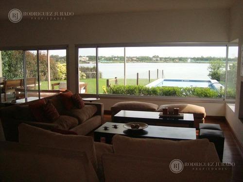 excelente casa al lago amplio para vacacionar