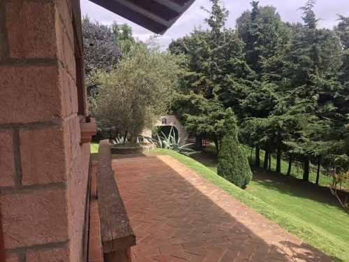 excelente casa amueblada en santa ana jilotzingo