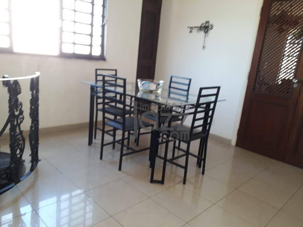 excelente casa com 4 salas à venda, 215 m² por r$ 750.000 - jardim são carlos - campinas/sp - ca5642