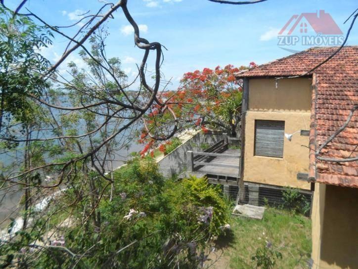 excelente casa com linda vista para lagoa. - ca0089