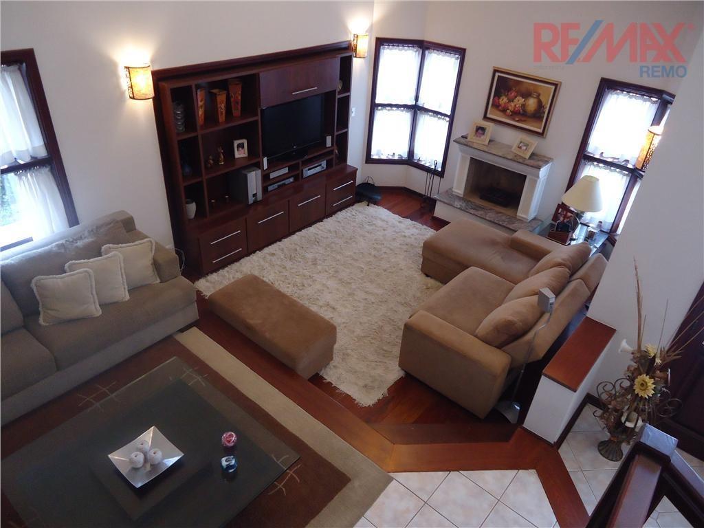 excelente casa, condomínio vista alegre - sede, vinhedo - ca0386. - ca0386