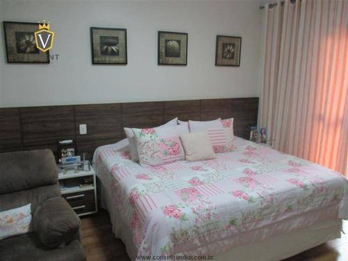 excelente casa de 270m²,03 suítes,04 vagas de garagem,espaço gourmet com piscina,villagio das flores jundiaí-localização privilegiada,permuta em sp - ca1216