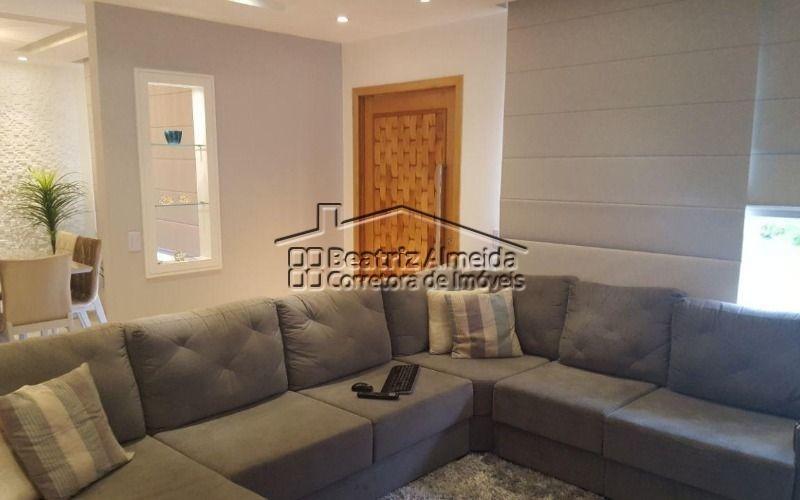 excelente casa de 3 quartos toda mobiliada no condomínio pedra da mata no flamengo  - maricá