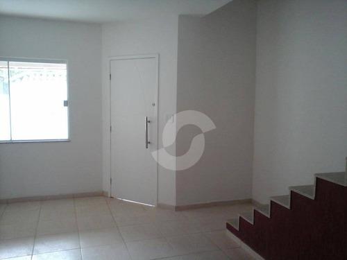 excelente casa duplex itaipuaçú - ca0737