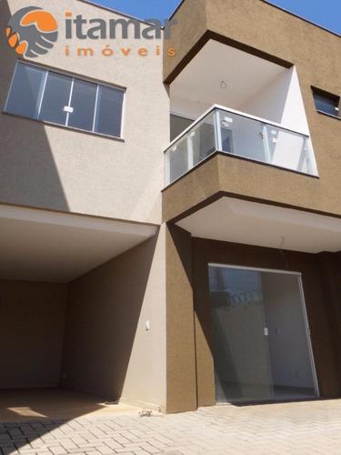 excelente casa duplex nova de 2 quartos em lagoa funda - ca00161 - 4901236