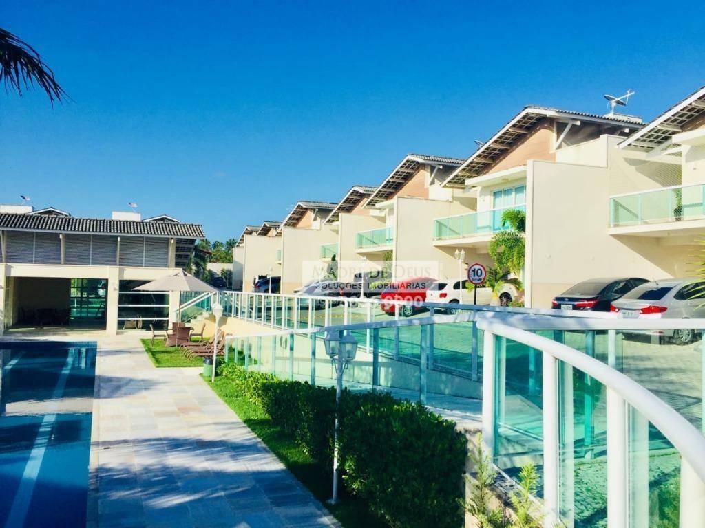 excelente casa em condomínio com alto padrão construtivo - ca1042