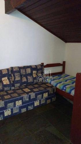 excelente casa em condomínio em araruama - ca0481