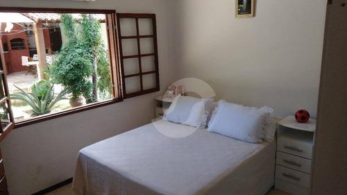 excelente casa em condominio fechado, pendotiba, niterói. - ca0926