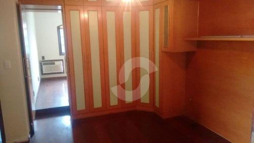 excelente casa em condomínio no fonseca - ca0632