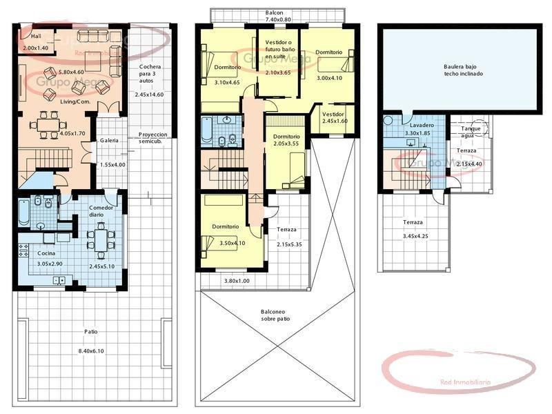 excelente casa en 2 plantas , amplias dimensiones