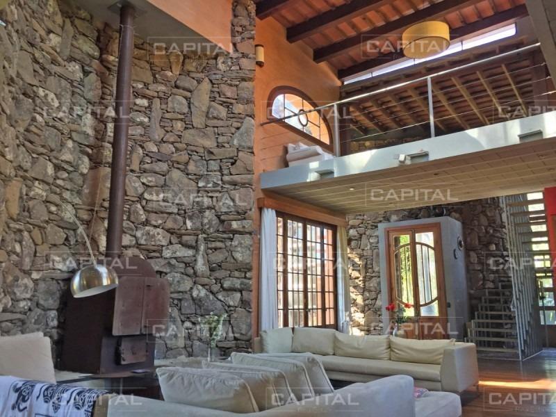 excelente casa en barrio privado la arbolada, punta del este-ref:28352