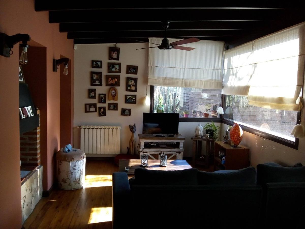 excelente casa en el monte de santa teresita + local/monoamb