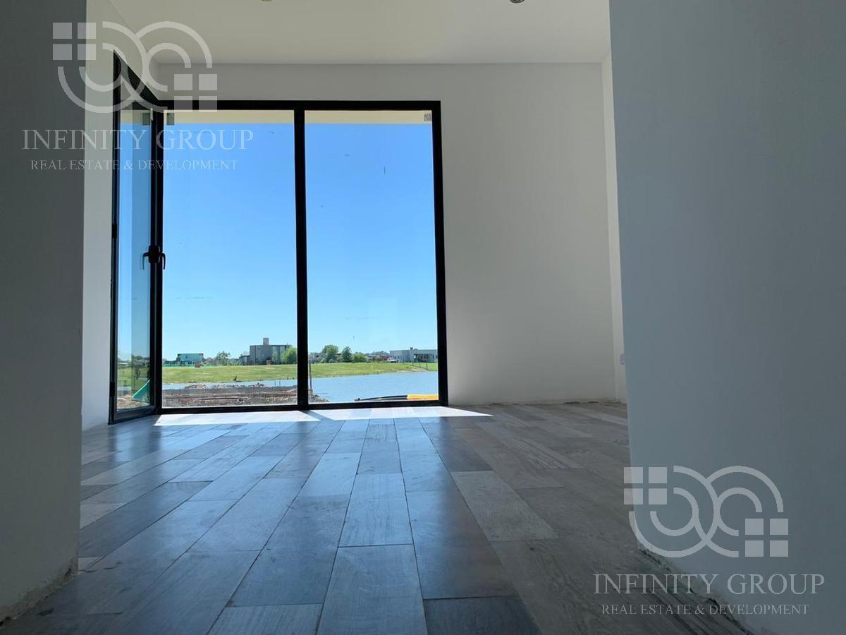 excelente casa en venta al lago a estrenar! en san sebastian con playa, pileta area 10