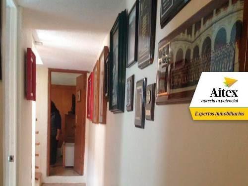 excelente casa en venta ubicada en condominio en iztapalapa, cdmx