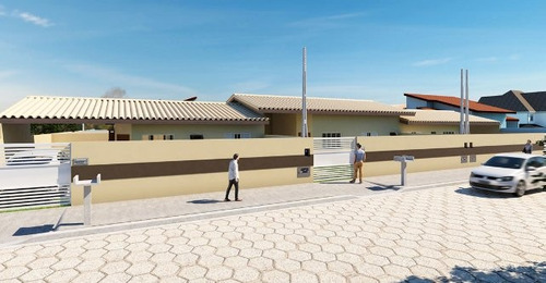 excelente casa geminada no cibratel 500m do mar - ref 4303