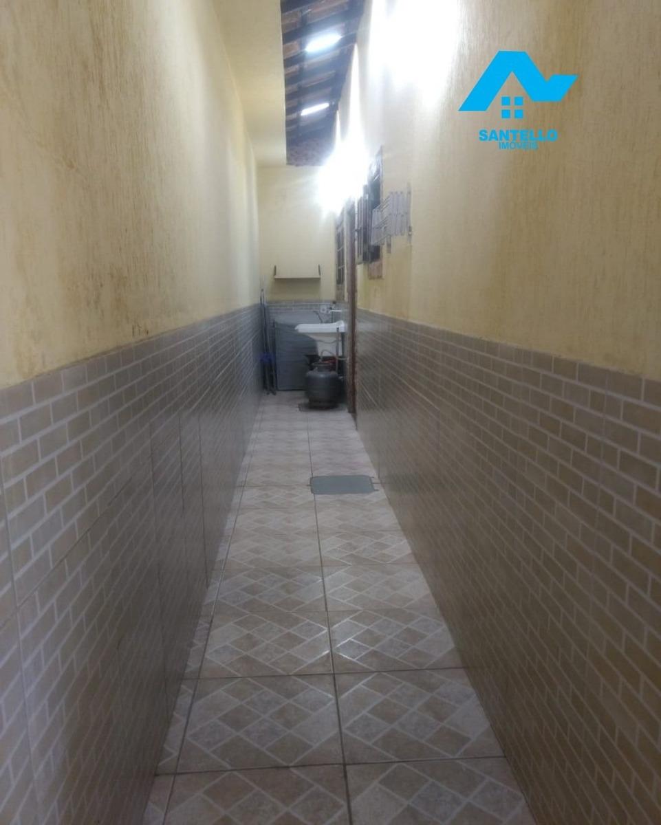 excelente casa linear pronta morar com um bom quintal!!! - ca00087 - 33591900