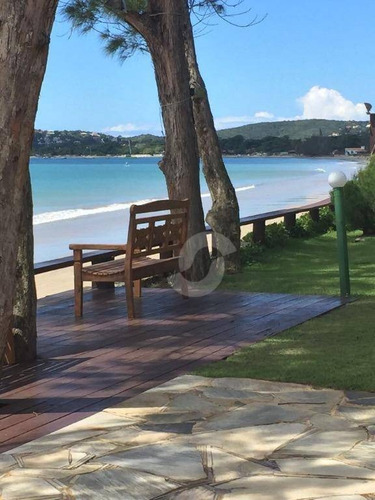 excelente casa na beira da praia em búzios - ca0987