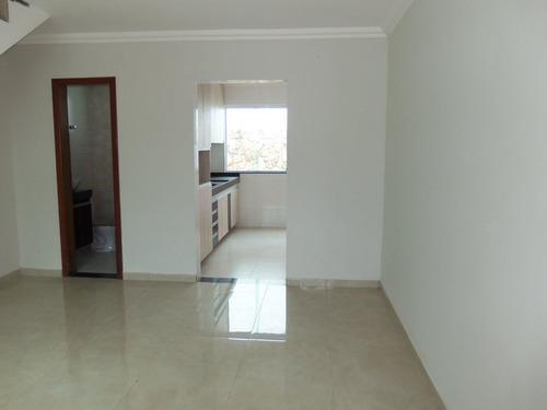 excelente casa no bairro santa monica, 2 quartos 2 suítes ,2 vagas - lis1422