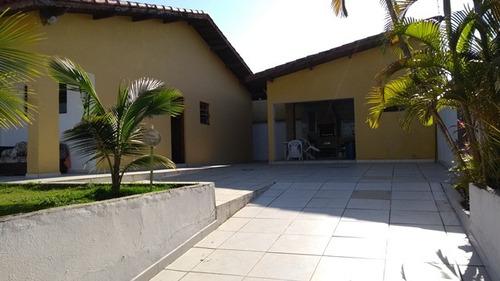 excelente casa no balneário gaivota, em itanhaém - ref 3112