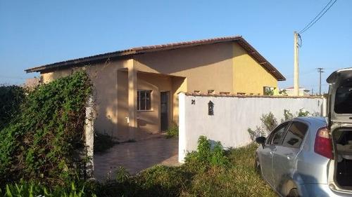excelente casa no balneário gaivota, em itanhaém - ref 3164