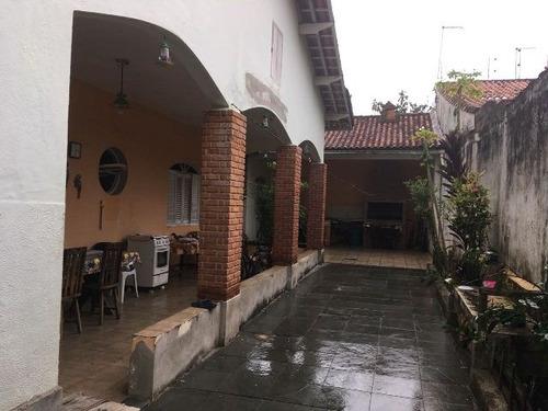 excelente casa no balneário gaivota, em itanhaém - ref 4401