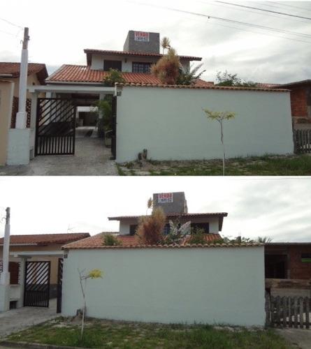 excelente casa no balneário gaivota, em itanhaém - ref 4441
