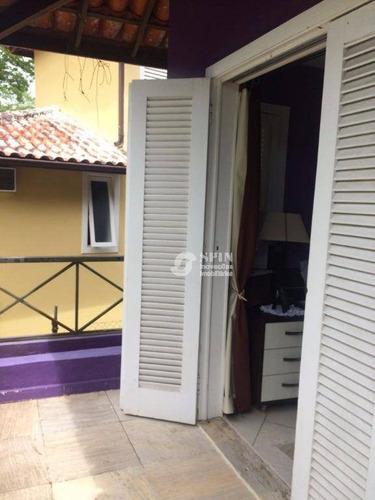 excelente casa no condomínio ubá curumim - ca0332