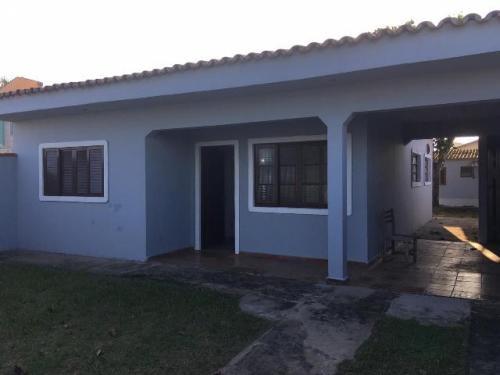 excelente casa no jardim jamaica, em itanhaém, frente ao mar