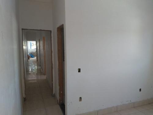 excelente casa nova, aceita terreno como parte pagamento