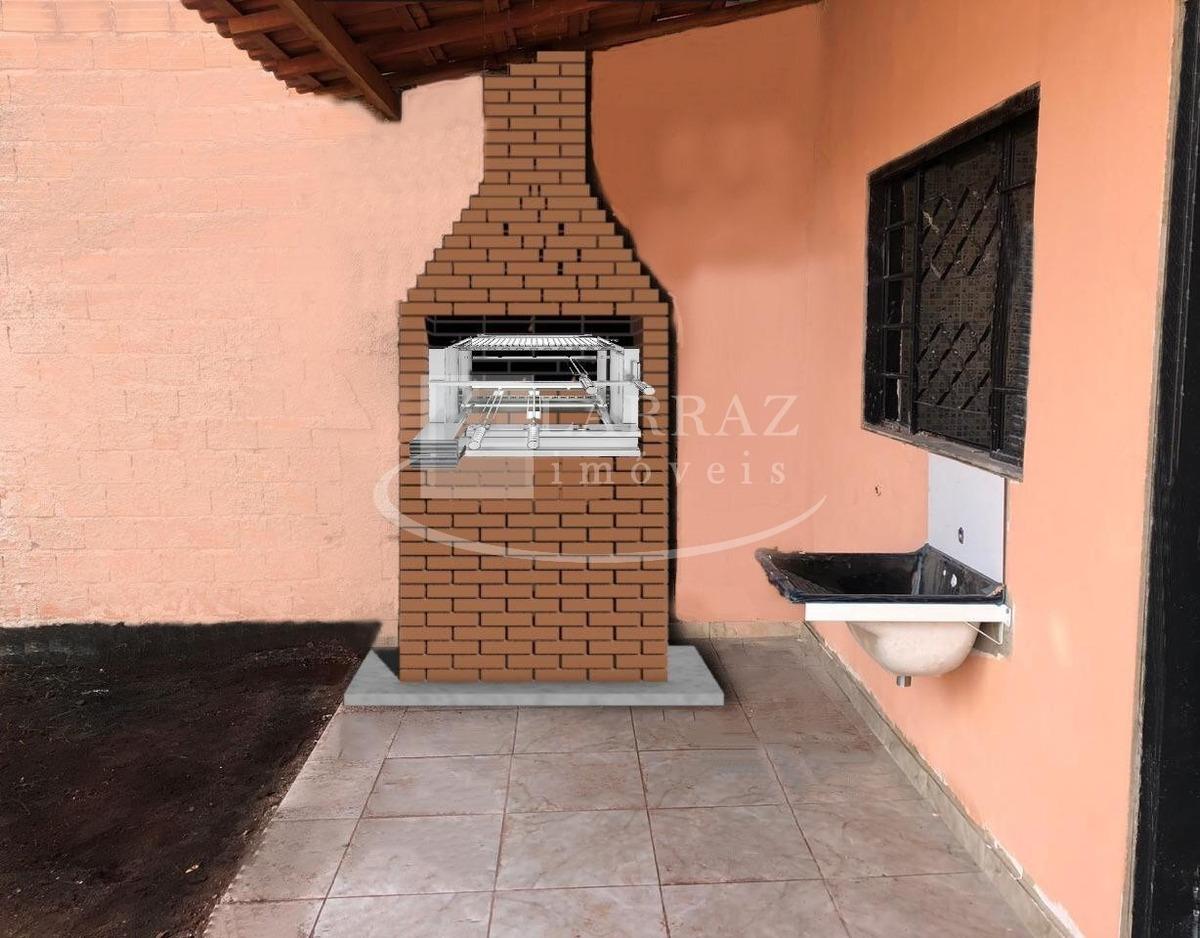 excelente casa nova para venda em jardinopolis no maria regina, minha casa minha vida, 2 dormitorios e varanda gourmet em 250 m2 de area total - ca00756 - 33902035