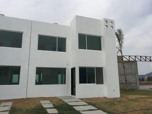 excelente casa nueva en venta en fracc. la hacienda pachuca