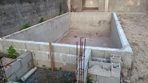 excelente casa semi acabada na praia em itanhaém - sp