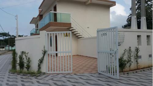 excelente casa sobreposta no jardim guacira em itanhaém - sp