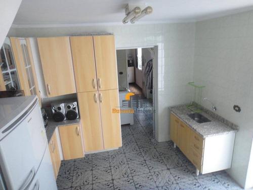 excelente casa térrea com 03 dormitórios com edicula espaçosa, jóia do bairro! - ca0446