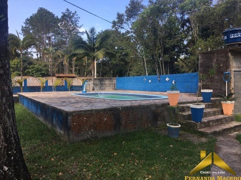 excelente chácara com piscina - ch00002 - 34596636