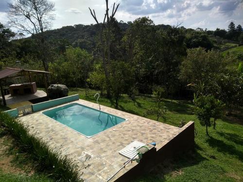 excelente chácara com piscina cod: 3860