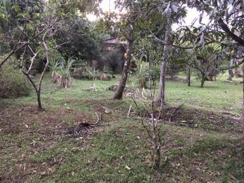 excelente chácara no jardim aguapeú, ccom 2500m²  ref 4745