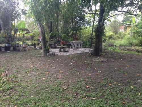 excelente chácara no parque vergara, em itanhaém - ref 4340