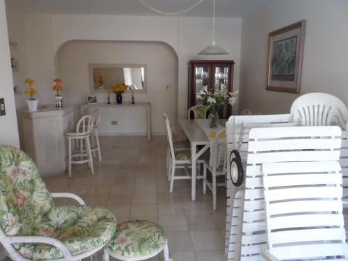 excelente cobertura 3 dormitórios com piscina e churrasqueira - astúrias - guarujá - co0083