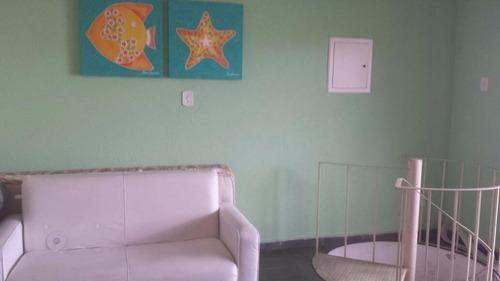 excelente cobertura duplex - 3 suítes com lazer - enseada - guarujá - co0087