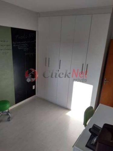 excelente cobertura duplex para venda no bairro barcelona em são caetano - 5172