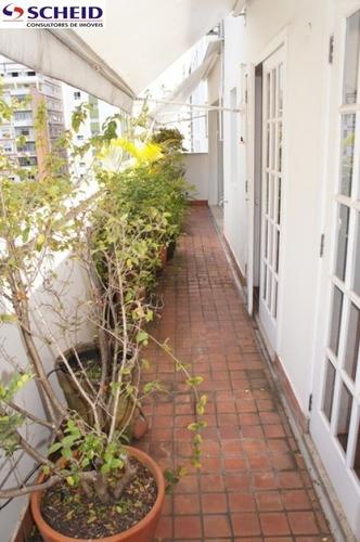 excelente cobertura no jardins, triplex com uma ótima localidade no jardins, facil acesso em vias. - mc3469