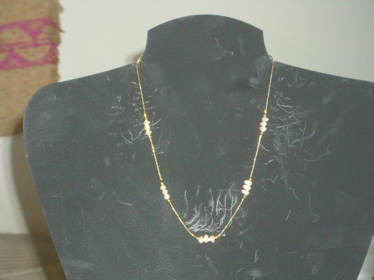 f72696863041 Excelente Collar Gargantilla C  Perlas Barrocas Originales -   231 ...